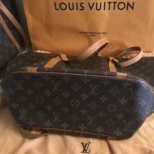 Louis Vuitton Shopping Tote Sac